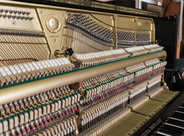 Piano Yamaha U3 interior